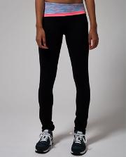 Skinny Dedication Pant BLK/SPGM/FLAL 10