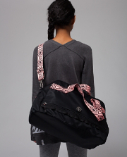 In The Game Duffle BLK/BLK/CUTS O/S