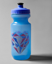 Drink Me Up H2O Bottle FRCT/BLU/BLK O/S